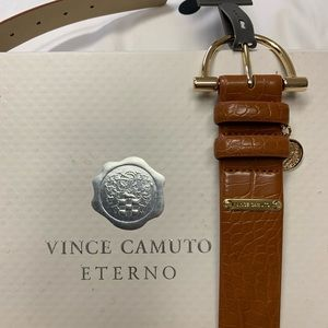 New Vince Camuto Ladies Brown Belt